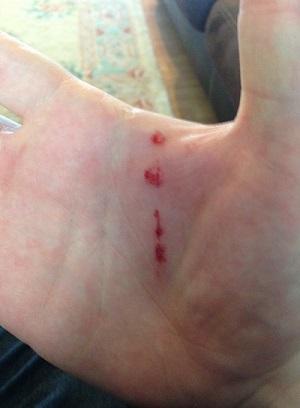 hand cut